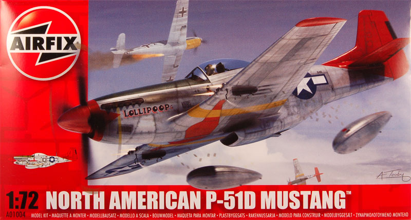 REVELL SNAPTITE KIT 1//72 P51 MUSTANG UNUSED but Tatty Packaging