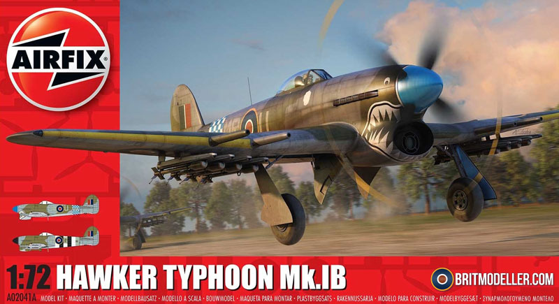 Hawker Typhoon Mk Ib - 1:72 - Kits - Britmodeller com