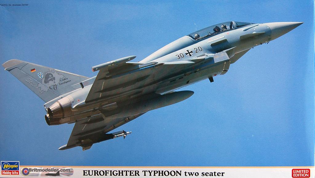 Eurofighter Typhoon Two Seater - 1:72 Hasegawa - Kits