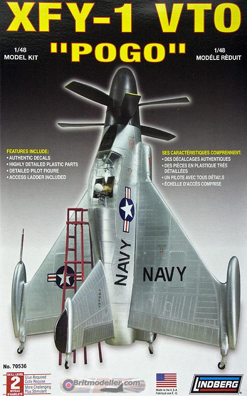 1//48 Model Kit Lindberg XFY-1 VTO  Pogo