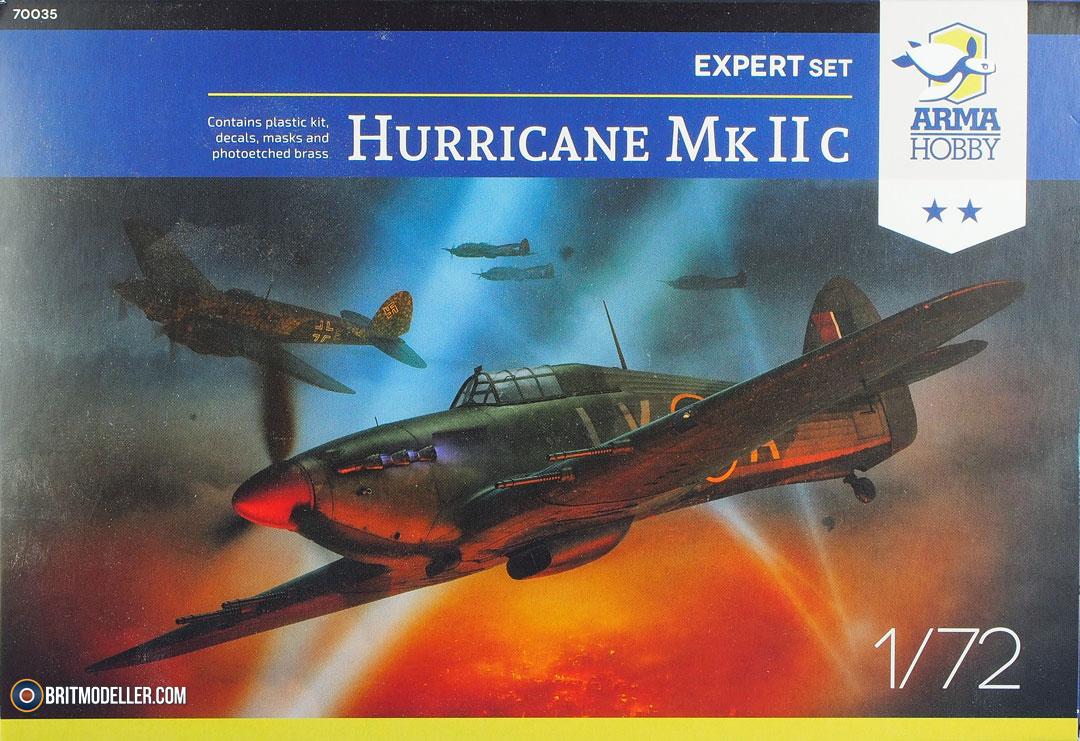 Arma Hobby Hurricane Mk I Expert Set in 1:72