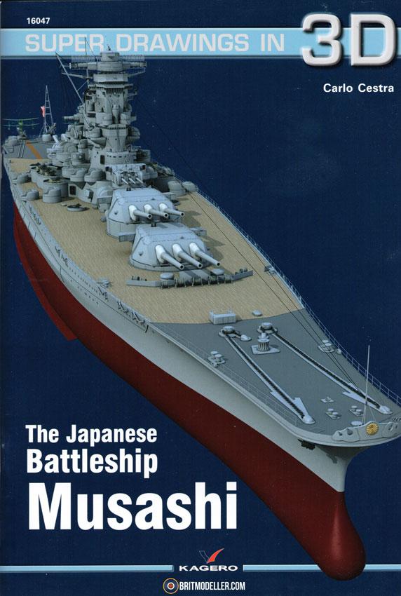 IJN Super Battleship Musashi Super Drawings in 3D