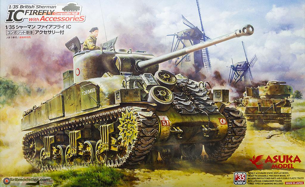 British Sherman Ic Firefly (Composite Hull) - Kits