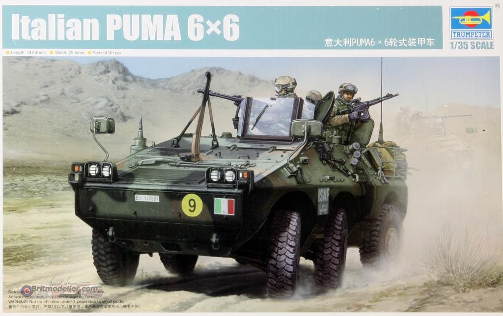 Italian Puma 6x6 Armoured Car  1:35 Trumpeter - Kits