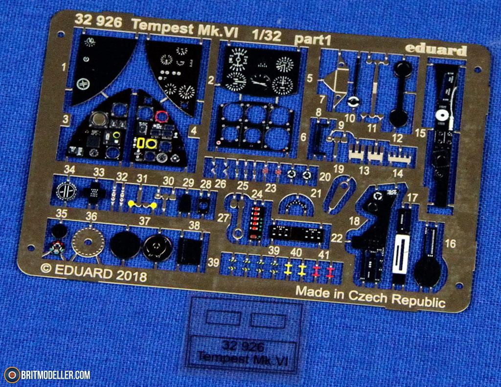 Eduard PE 32926 1//32 Hawker Tempest Mk.VI Detail set Special Hobby !