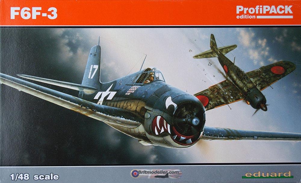Grumman hellcat f6f 3 eduard profipack 1 48 kits britmodeller