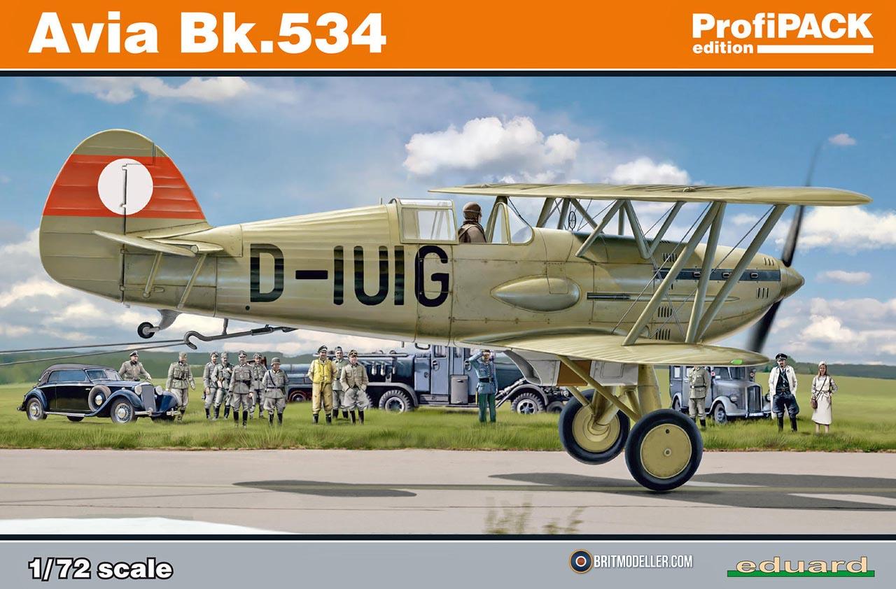 Eduard Edua70103 Avia B-534 Early Series Dual Combo 1//72