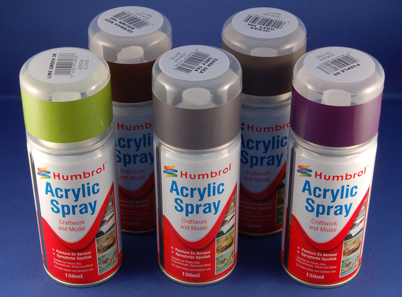 Humbrol Acrylic Spray 150ml Tools Paint Reviews