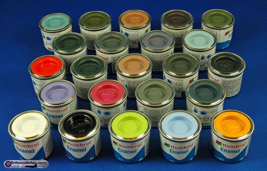 List Of Humbrol Paint Colours