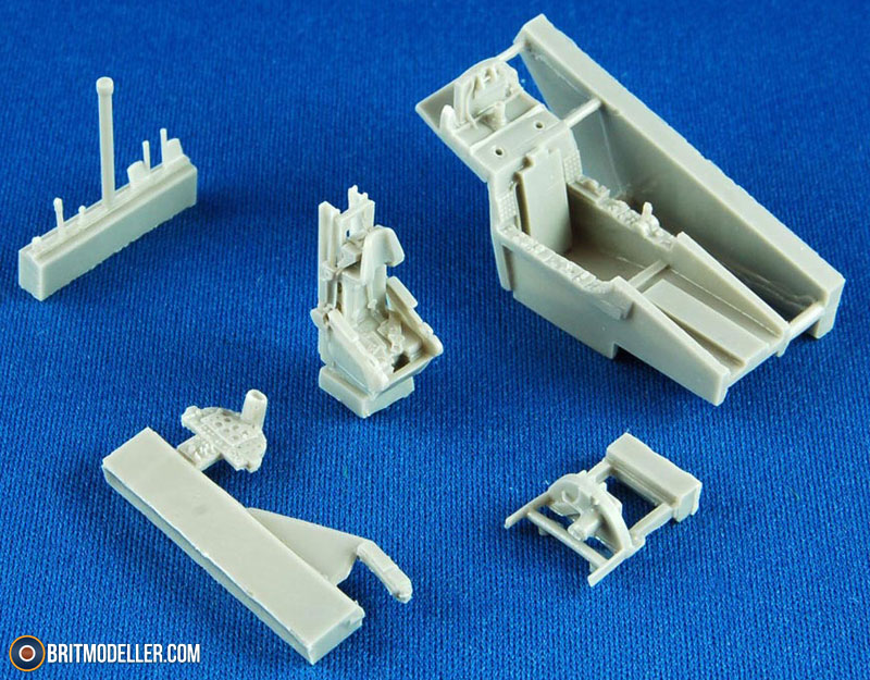 F 102a Resin Upgrades For Meng Kit 1 72 Pavla