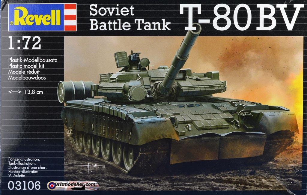 0bc074a3b859 Russian Battle Tank T-80 BV - 1 72 Revell - Kits - Britmodeller.com