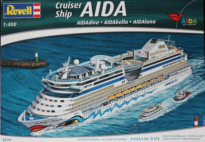 MV Aida Cruise Liner Kits Britmodellercom - Cruise ship model kits