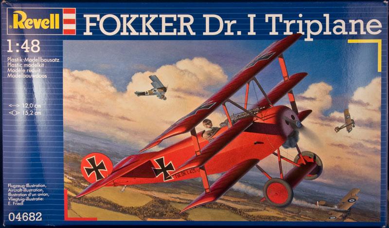 Fokker Dr.1 1/48 Revell (Eduard) Boxtop