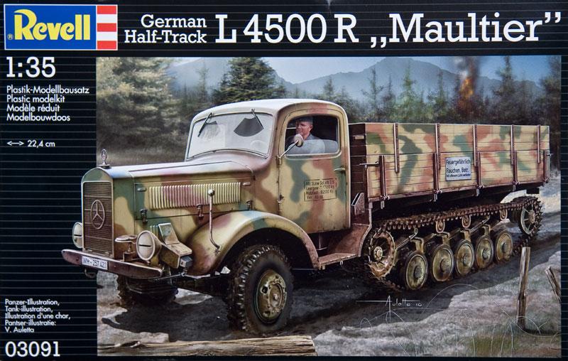 L4500R Maultier Half-track Truck - Kits - Britmodeller com