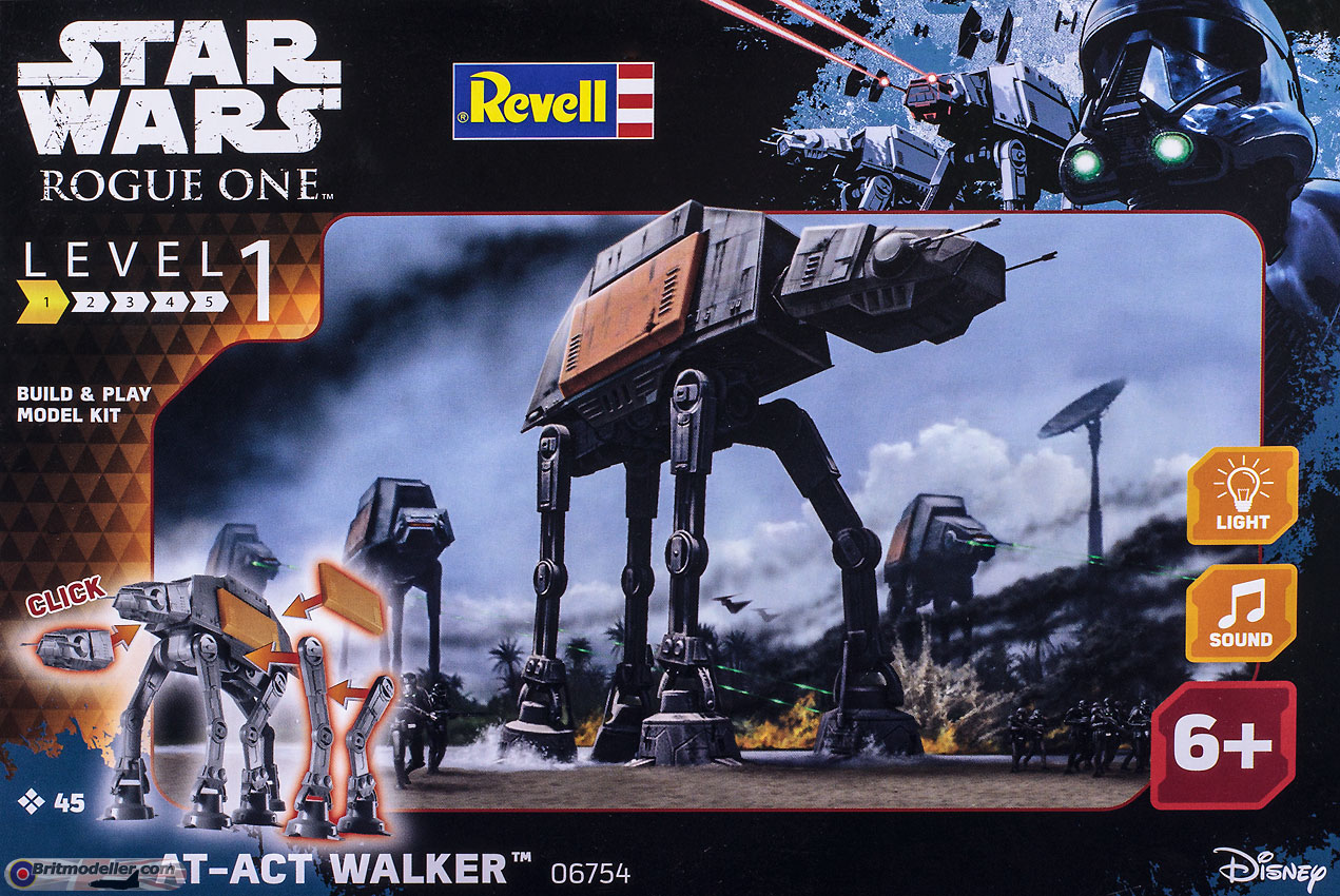AT-ACT Walker (06754) - Sci-fi & Real Space Reviews