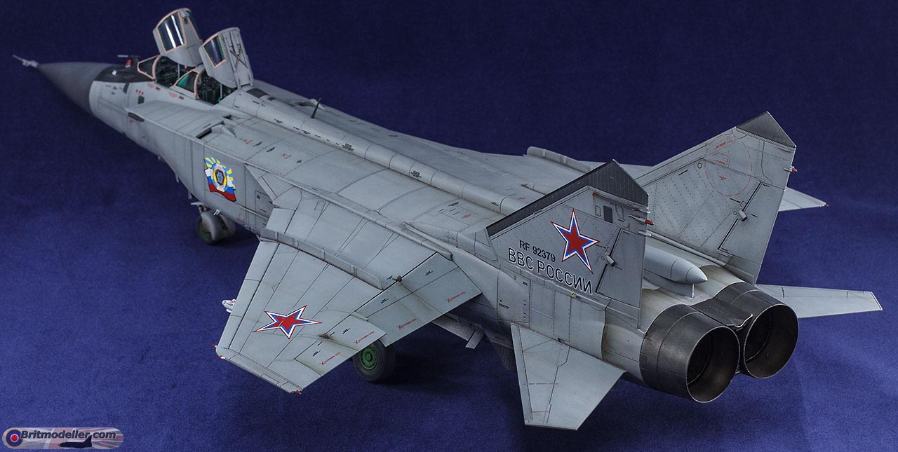 Mig-31BM Foxhound Review Build 1:48 - Ready for Inspection - Aircraft ...