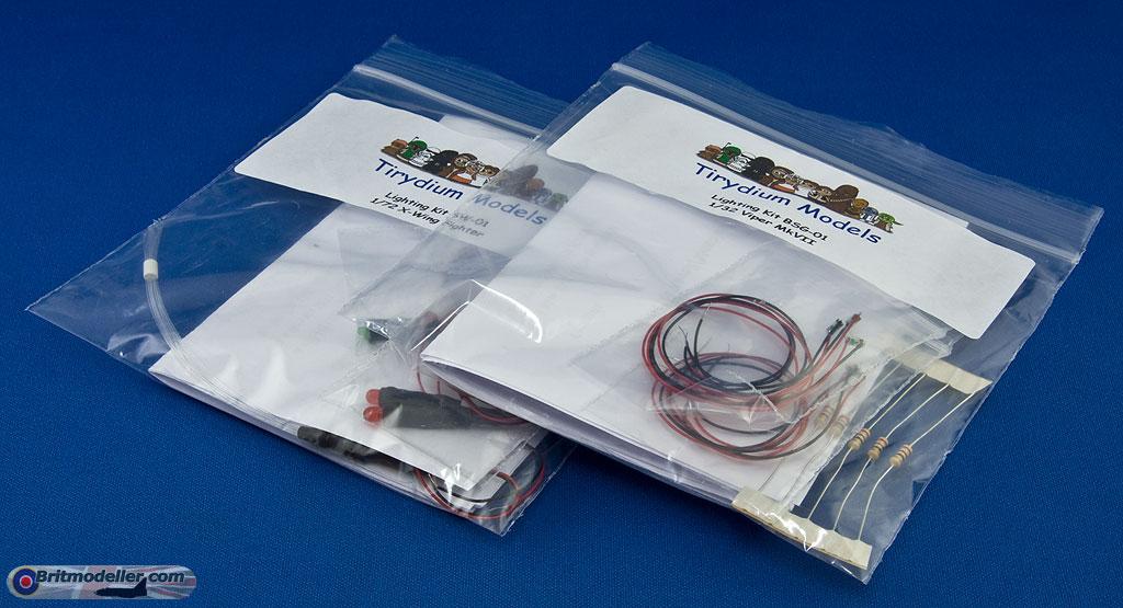 Led And Fibre Optic Lighting Kits Sci Fi Real E