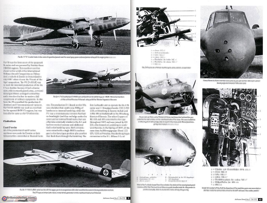 Classic Airframes 4114 1 48 Dornier Do 17z Build Review - Pages1 jpg