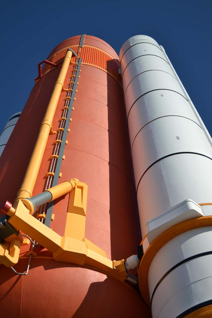 separation of booster rockets and space shuttle external tank - photo #5
