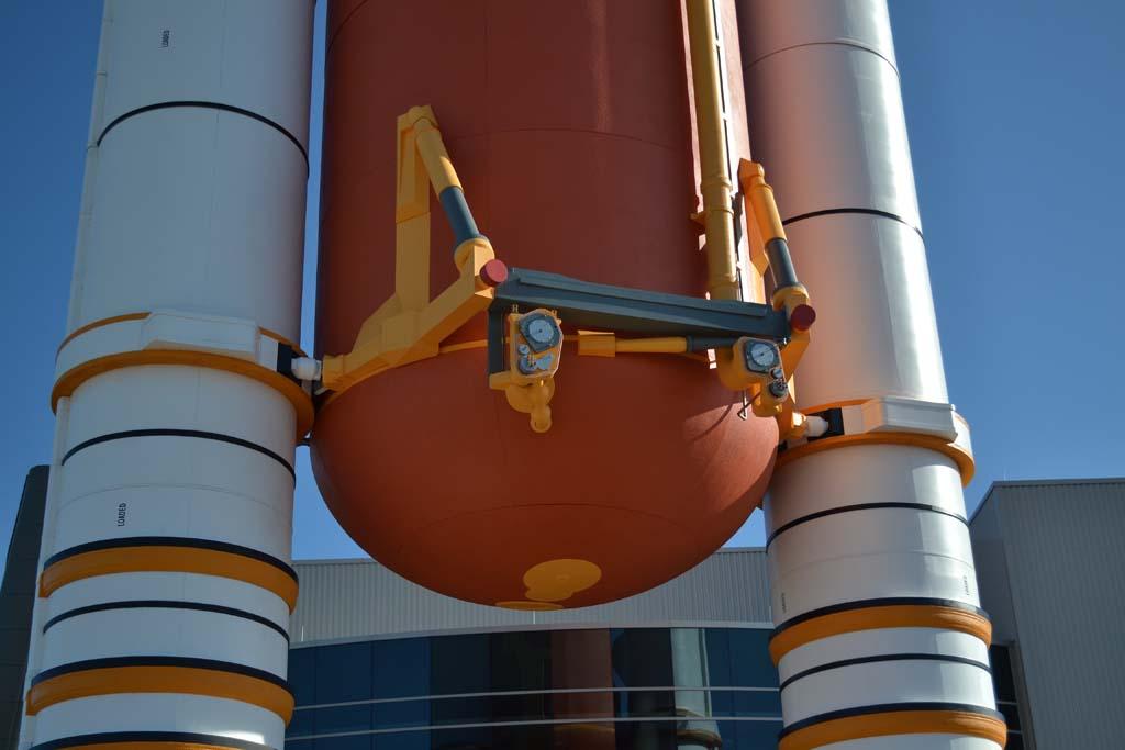 separation of booster rockets and space shuttle external tank - photo #14