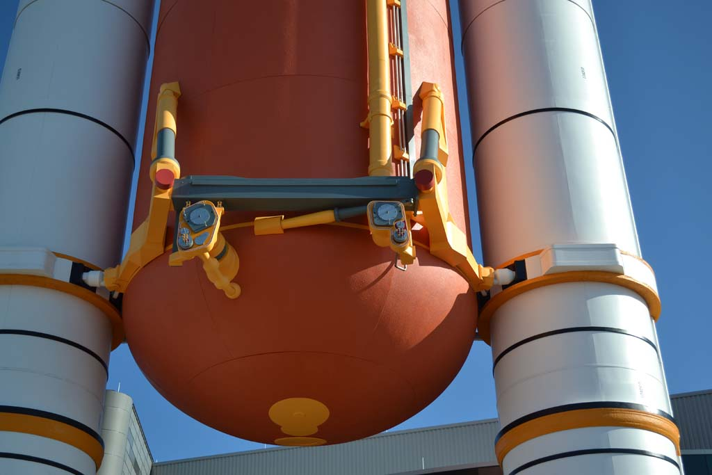 separation of booster rockets and space shuttle external tank - photo #15
