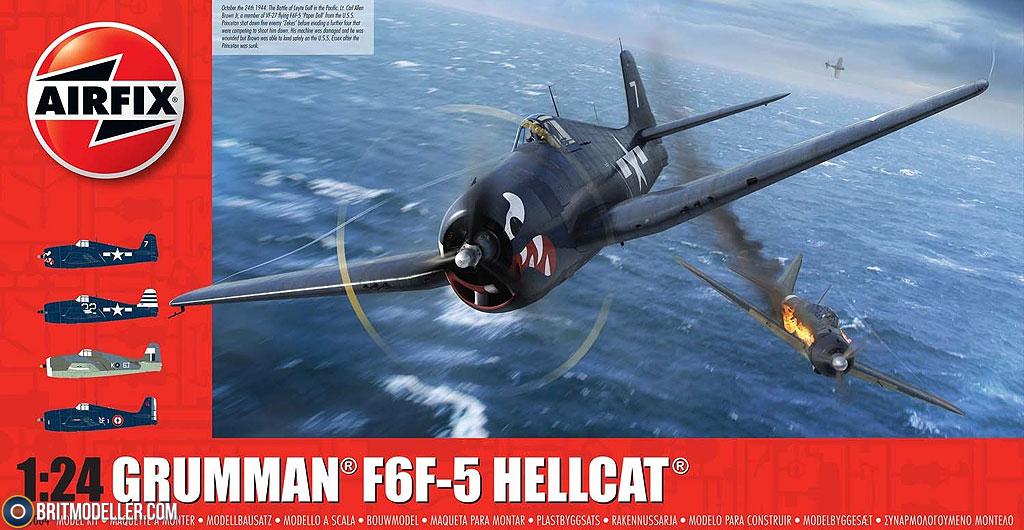 Grumman F6F-5 Hellcat (A19004) 1:24 - Kits - Britmodeller com