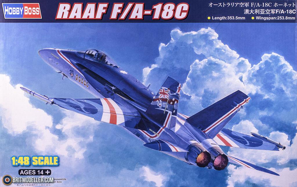 RAAF F/A-18C Hornet (85809) 1:48 - Kits - Britmodeller com