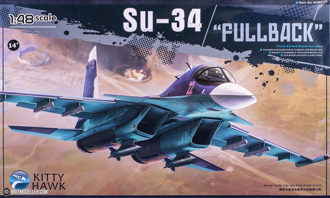 Su-34 Fullback (KH80141) 1:48 - Kits - Britmodeller com