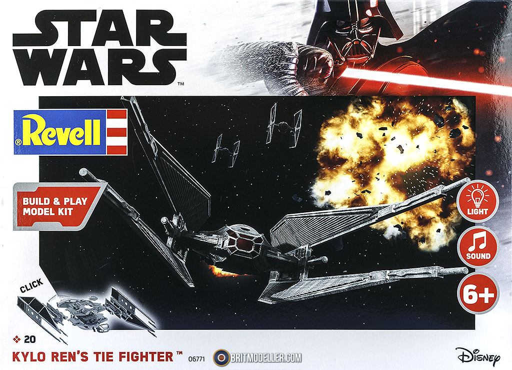 Kylo Ren S Tie Fighter 06771 Sci Fi Real Space Reviews Britmodeller Com
